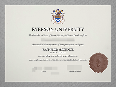 Obtain A Fake Ryerson University Diploma Online