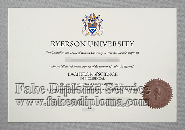 Fake Ryerson University Bachelor Degree Online, fake Ryerson University diploma.