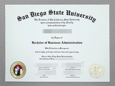 Order A Fake San Diego State University Bachelor Degree Online