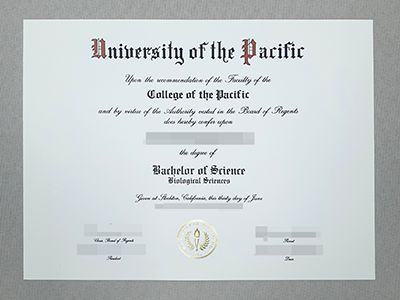 Get Fake University of The Pacific Diplomas Online