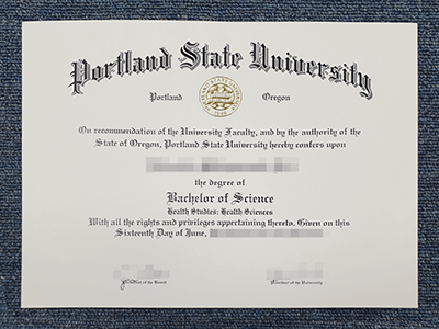 Buy Portland State University Bachelor's Degree, Get A Fake PSU Diploma