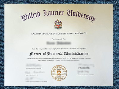 Get Master Degrees, Fake Wilfrid Laurier University Diplomas