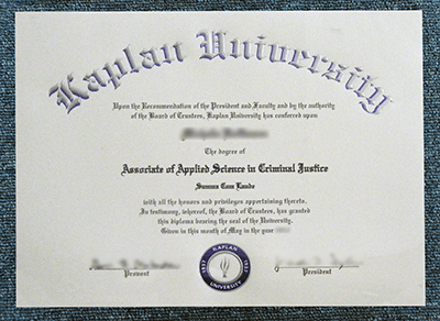 Regain Your Kaplan University Diploma Online, Buy Fake KU Degrees
