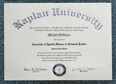 Buy Kaplan University Fake Diploma, Buy Fake KU Degree Certificate
