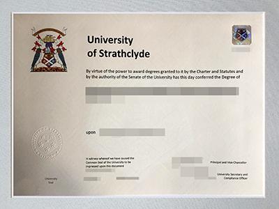 Buy University Of Strathclyde Fake Diploma, Copy UK Diplomas