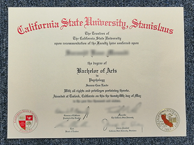 Buy Fake California State University-Stanislaus Diplomas