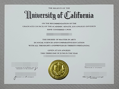 Choose A High-Quality Website To Purchase A UCLA Degree, Buy Fake UCLA Diploma