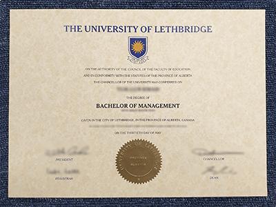 How To Get Fake University Of Lethbridge Diploma Certificate.