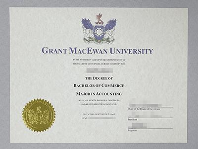 Selling Fake Grant MacEwan University Diploma, Fake Canadian University Degree