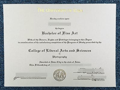 How To Buy The University Of Iowa Fake Diploma? Get Fake Iowa Degree