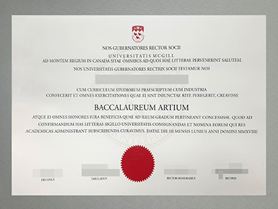 Can I Buy A Fake McGill University Diploma online?