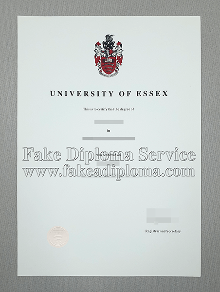 Fake University of Essex Diploma, fake Fake University of Essex Degree.