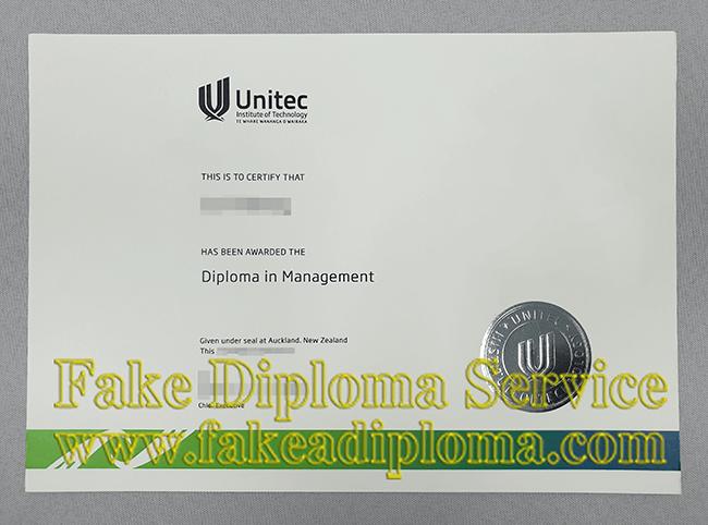 Fake Unitec Institute OF Technology Degree, Fake Unitec Diploma