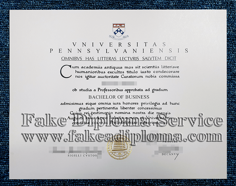 fake PSU diploma, fake Pennsylvania State University degree.