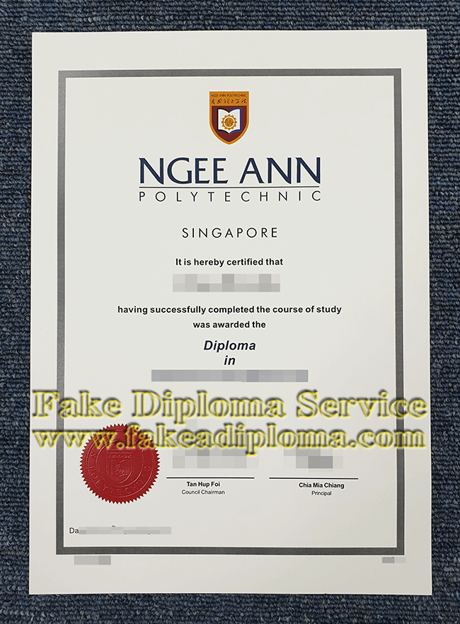 fake Ngee Ann Polytechnic diploma, fake NP degrees.