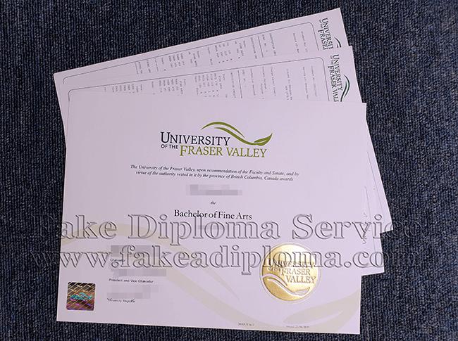 fake UFV diplomas, fake University of the Fraser Valley degree, fake University of the Fraser Valley transcript.