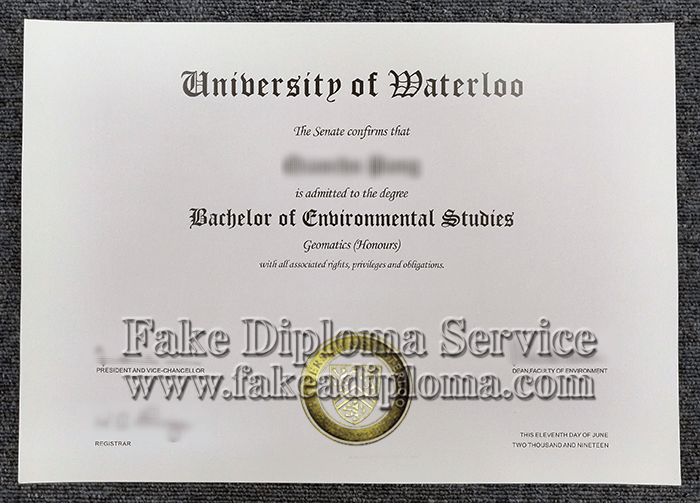 fake University of Waterloo diplomas, fake Waterloo degrees.