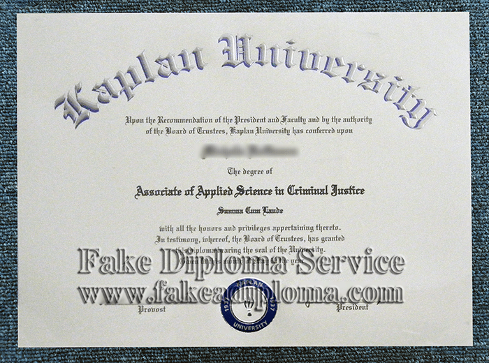 fake Kaplan University diploma, fake KU degree, fake Canada University diploma and certificate.