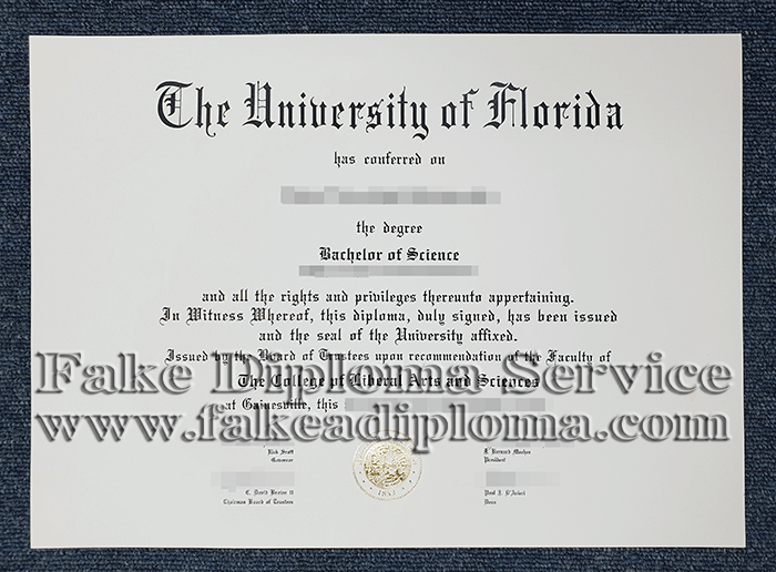 Fake University Of Florida Diploma