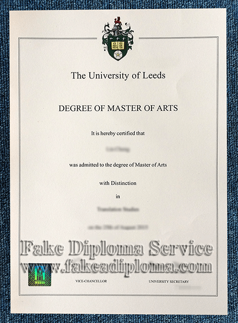 Buy The University of Leeds Fake Diplomas