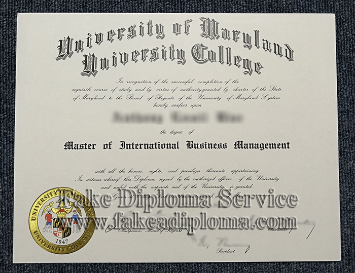 Fake UMD Diplomas, Fake UMCP Bachelor Degree, fake University of Maryland-College Park degree.