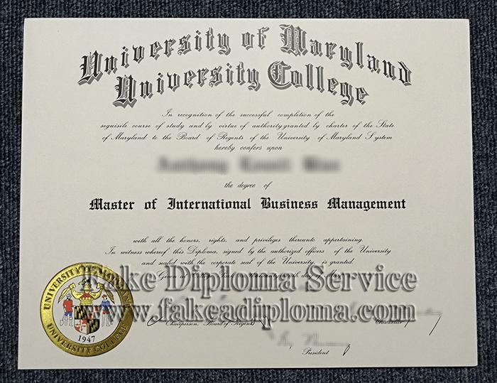 Fake UMD Diplomas