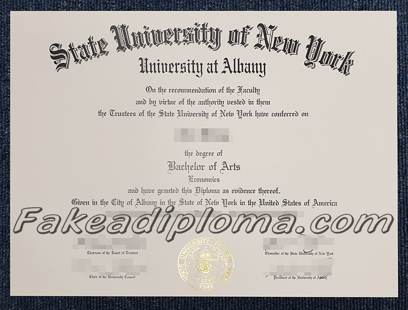 fake State University of New York-Potsdam diploma