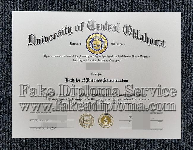 fake University of Oklahoma diploma, fake UO degree.