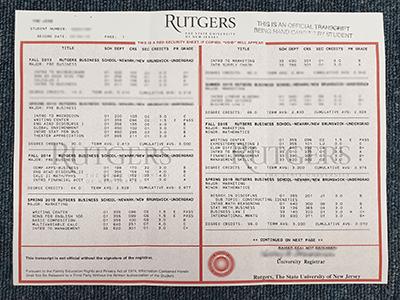 Where To Buy Fake Rutgers University Transcript?