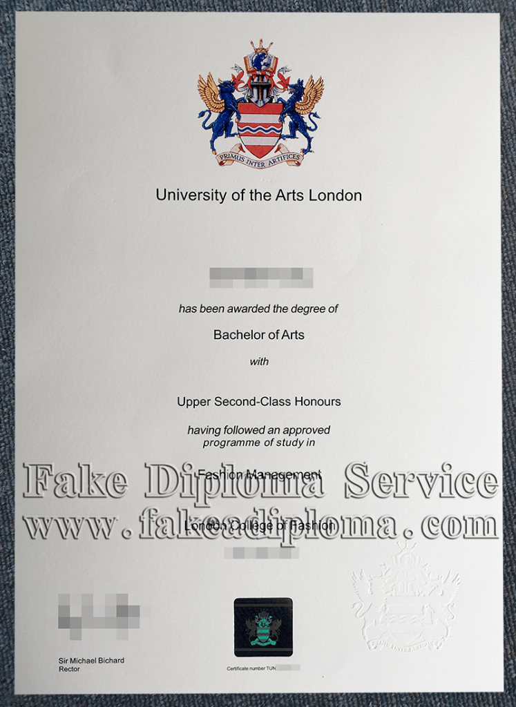 University of the Arts London Diploma