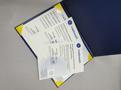 Where To Buy A Fake NEBOSH Certificate?