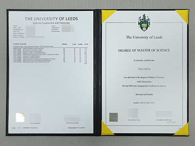 How to Buy Fake University of Leeds Diploma and transcript Online