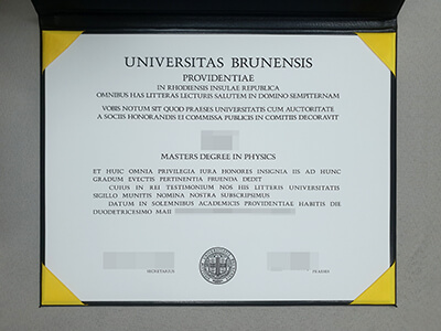 Get A Fake Brown University Diploma, Buy Fake Universitas Brunensis Degrees