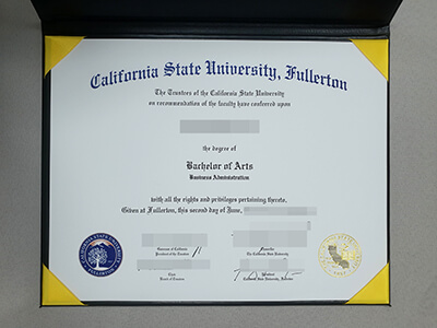 How to Obtain A Fake California State University  Fullerton Diploma Online?
