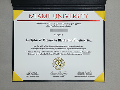 Buy A Fake Miami University Diploma Online