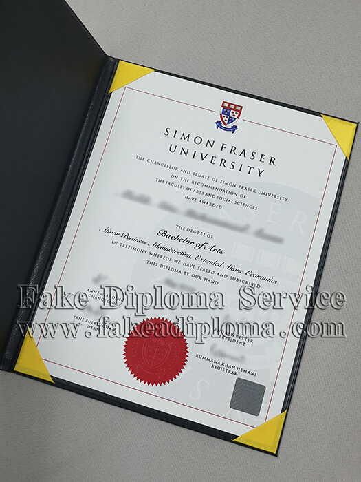 Fake Simon Fraser University Diplomas,fake Simon Fraser University degree certificate.
