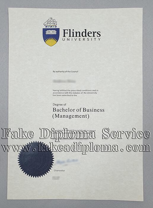 Fake Flinders University Diploma