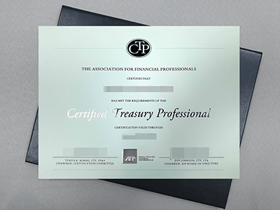 Get Fake Certified Treasury Professional Online, CTP Fake Certificate.