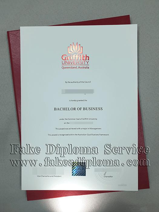 FaKe Griffith University Degree, Fake GU Diploma Certificate
