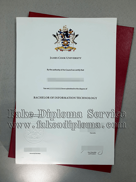 Fake James Cook University Diploma Online, JCU Fake Degree Certificate.