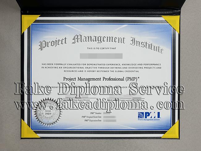 Project Management Institute certiificate