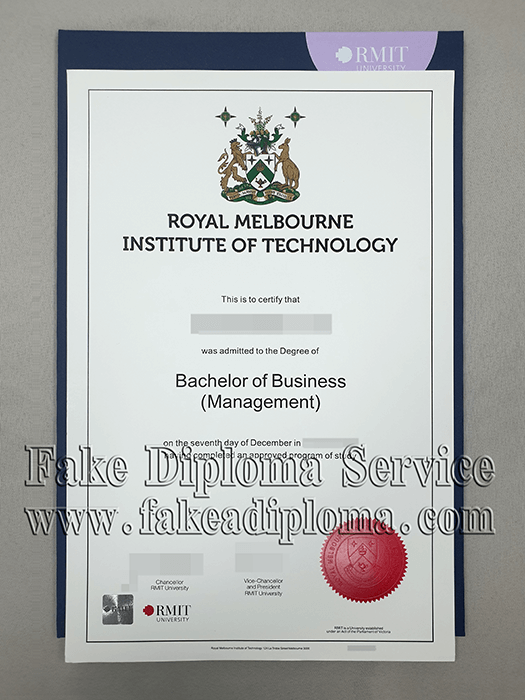RMIT University Fake Diploma, Fake Royal Melbourne Institute of Technology University Degree.