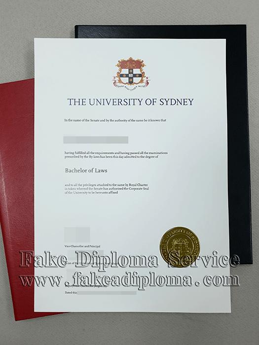 Fake University of Sydney Diploma, USYD Fake Degree.