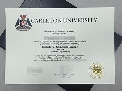 Carleton University Fake Diploma, Fake CU Degree Certificate