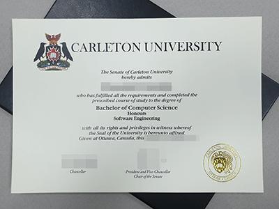 Carleton University Fake Diploma, Fake CU Degree Certificate