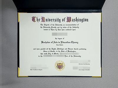Obtain the University of Washington Fake Diploma, Get Fake UW Degree Online