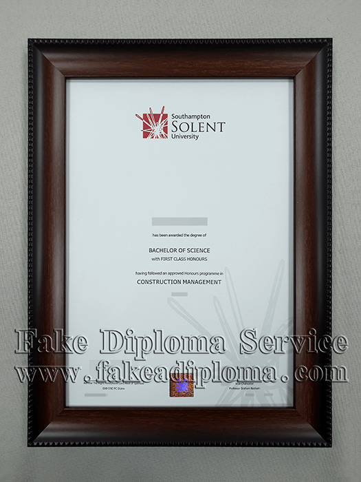 Buy Fake Solent University Diploma, Get Fake Solent Degrees