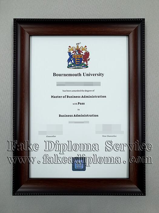 Fake Bournemouth University Degree, Fake BU Diploma.