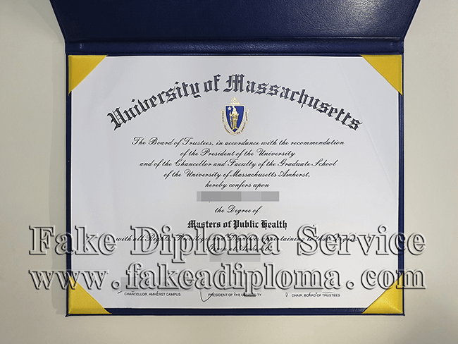 Fake University of Massachusetts Diploma, fake UMASS diploma.