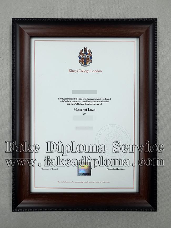 Buy Fake King's College London Diploma, Get Fake KCL Degree
